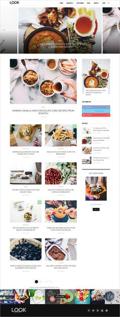 LOOK is an awesome responsive #WordPress News, Magazine & Blog Theme for sites that deliver news about #Foodies #cocking #Recipe etc download now➩ https://themeforest.net/item/look-a-fashion-beauty-news-magazine-blog-wordpress-theme/18769520?ref=Datasata