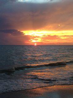 Sunset on Anna Maria Island, Aug 2015