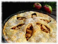 the one and only, and soooo good! American Apple Pie, Gluten Free Baking, Trifle, Deserts, Good Food, Dessert Recipes, Thanksgiving, Treats, Snacks