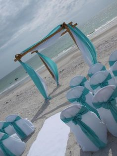 RENTALS OF: Bamboo Chuppah/Canopy/Arch & Chairs For Your Beach, Indoor Or Outdoor Wedding - Tampa, St. Petersburg