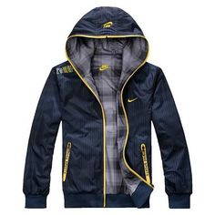 2365085dfc7eac Wholesale 2013 Spring Autumn The New Men s Sports Jacket Hooded Jacket Men  Two Sides Outwear Blue Coat