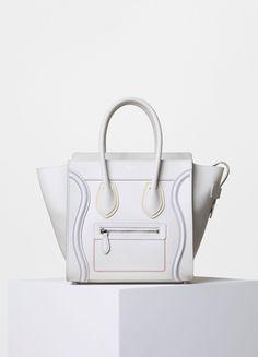 celine multicolour suede handbag