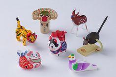 「中川政七商店×ネ・ネット」郷土玩具でコラボレーション!可愛らしい日本各地のフィギュア登場 | ニュース - ファッションプレス