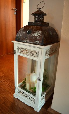 lantern - my shabby white home