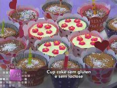 Cup Cake sem Glúten e sem Lactose - 20/04/2012