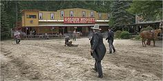 Byram (Sussex County) - No need to head west to see a showdown at high noon.  Wild West City brings a little bit of the flavor of the Southwest to New Jersey.