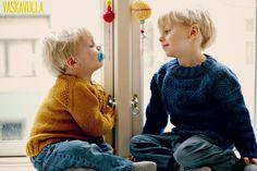 Gratis opskrift på Den Snedige Sømand Børnesweater af Thea Rytter