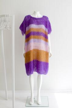 """""""Geometry"""" Hanna Sarén AW13 / mohair dress"""