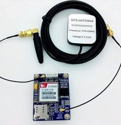 2016 New SIM808 GSM/GPRS/GPS Module Quad Band Precise Development Board With GPS GSM Antenna Instead of SIM908--free shipping
