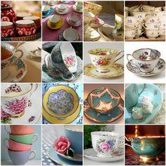 Pretty cups