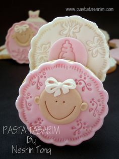 BABY SHOWER COOKIES by CAKE BY NESRİN TONG, via Flickr