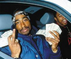 """( L to R: Tupac Shakur and Jacques """"Haitian Jack"""" Agnant .) ( L to R: Jacques """"Haitian Jack"""" Agnant, Tupac Shakur and friend."""