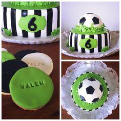Fútbol ... Torta y cookies