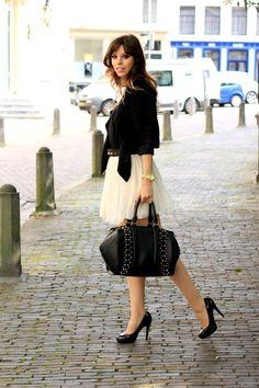 Outfit: Ballerina Skirt and Studds