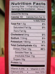 How to Read a Nutrition Label. Great tips-includes recommended daily intake and ingredients to avoid like hydrogenated oil.