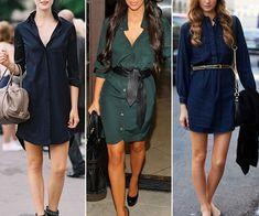 8e90c2b6d9 Patrón para hacer un vestido Chamesier que básicamente es un estilo de  blusa o camisa larga