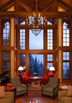 548 best Mountain Home Decorating images on Pinterest | Cottage, Log ...