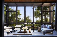 The world outside offers the best inspiration. Architecture and Interiors by Ray Booth. #raybooth1128 #Newell #Minotti #Odegard