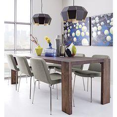 blox 35x63 dining table | CB2