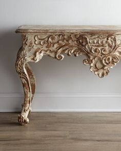 """Jennessa"" #Console at Horchow.  Pinworthy Consoles We Love at Design Connection, Inc. 