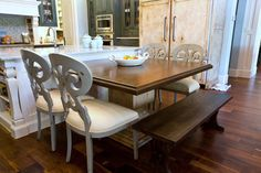 Dining Room By Whitnie Cypert Of The Interior Collection. Features The  V1257S Chairs By Vanguard