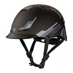TX Horse Riding Helmet Black Nitro - Item # 43655