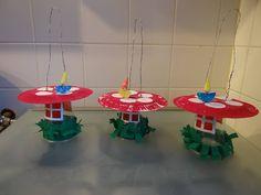 paddestoelen lampion Classroom Crafts, Preschool Crafts, Diy Crafts, Bauhaus, Fall Decor, Holiday Decor, Paper Crafts For Kids, School Themes, School Holidays