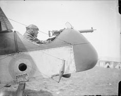 Capt.Andrew Lang of 29 Squadron in a DH 2 in France 1916
