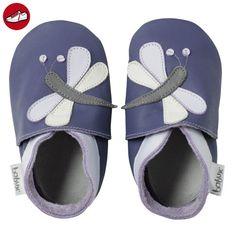 Bobux 460792, Baby Mädchen Lauflernschuhe, Violett (Purple), S EU (*Partner-Link)
