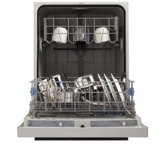 Whirlpool Front Control Dishwasher in Monochromatic Stainless Steel - WDF530PAYM at The Home Depot