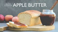 Slow Cooker Apple Butter | The Gray Boxwood# slow cooker healthy recipes