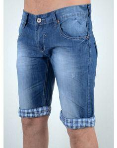 Ανδρικά Ρούχα Denim Shorts, Jeans, Men Clothes, Summer, Blue, Fashion, Moda, Summer Time, Men's Clothing