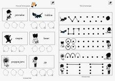 Miranda's lesmaterialen : jip en janneke werkboekje en knijpkaarten