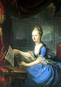 Marie Antoinette 1769-70, shortly after her marriage in 1770