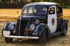 1937 Ford Police Car by Richard  Small, via 500px
