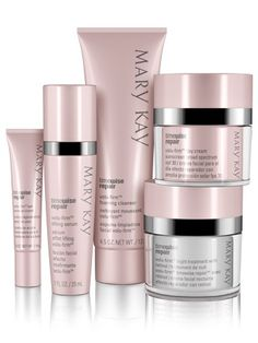 Restore what was lost and lift away the years with this scientifically innovative regimen that proves it's never too late to help rescue skin from the damage of the past and recapture a vision of youthfulness.  The look of deep lines and wrinkles is reduced. Lifted facial contours appear restored. Youthful volume is recaptured. Even skin tone is revealed. Vital moisture is replenished. www.marykay.com/cdelvalle