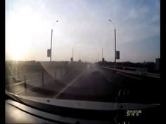 Motorcycle crash, rider flips and lands on feet on car roof #SpidermanStyle - Complete Footage - YouTube