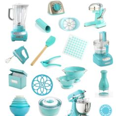 "I'm gonna need to go ahead and get all of that to match my ""Martha Stewart Blue"" Kitchen Aid Mixer.."