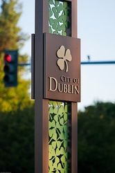 City of Dublin Identity Signage