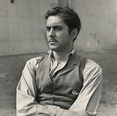 Tyrone Power on the set of Jesse James, 1939 via lacalaveracatrina