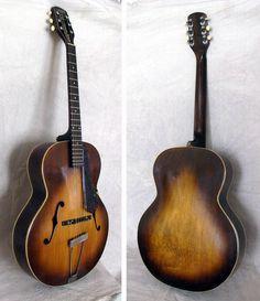 Stella Guitars :: A1319 Gretsch New Yorker Arch-top, circa 1949