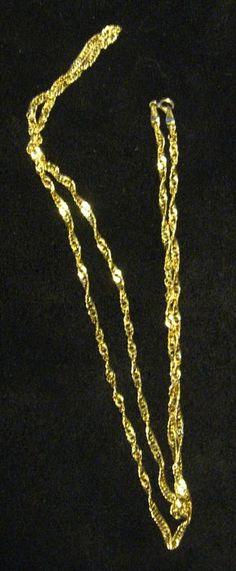 Vintage gouden gedraaide armband | Accessoires Online
