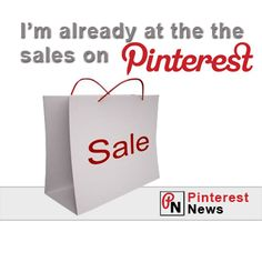 Why go to the sales when you have Pinterest (News)  #pinterest #socialmedia #pinterestnews #newspinterest
