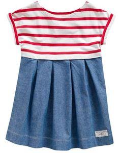 JNR EMME Girls Striped Dress #joules #stripes