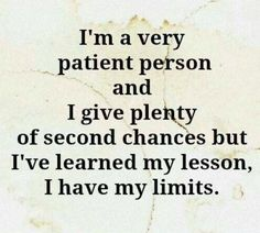 Some people will never get another chance....