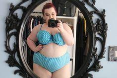 f6dd5cc915 Plus Size Swimwear Haul Try On  TheBeautyAddict Love Blue
