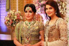 Pakistani celebs meera & nida yasir