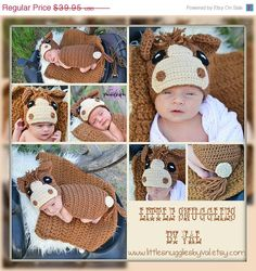 SAVE 15% Now LSBV Horse Hat and Cape with Tail. Photography Prop Set. Made to Order. on Etsy, $33.96