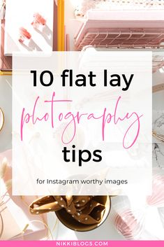 Discover 10 flat lay photography tips to improve your top down images. Perfect for bloggers, social media influencers, and small business owners, this guide offers inspiration and ideas to take your photos to the next level. Learn how to style flat lay photos, build a photography props kit, and upgrade your setup - we'll go over lighting, tripods, and more. #photography #flatlay #instagram #blogphotography #photoideas Flat Lay Photography, Photography Courses, Photography Backdrops, Amazing Photography, Photography Tips, Photographs Of People, Perfect Image, Photo Instagram, Blogging For Beginners