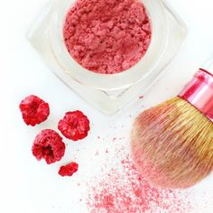 All Natural Homemade Blush With Dried Raspberries